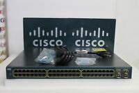 Cisco Catalyst WS-C3560G-48PS-S 48-Port Gigabit PoE Switch 15.0