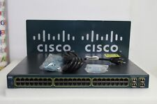 Cisco Catalyst WS-C3560G-48PS-S 48-Port Gigabit PoE Switch 15.0 4X GLC-SX-MM