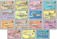 Timbres Avions Gibraltar 439/53 ** lot 22404 - cote : 60 €