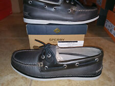 New $159 Mens Sperry Gold Cup 2-Eye Boat Shoes, size 9.5
