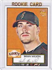 BRIAN WILSON ROOKIE CARD 2006 Topps 52' Style RC Baseball Giants Dodgers BEARD!