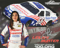 Leilani Munter Autograph Signed Photo - NASCAR Driver