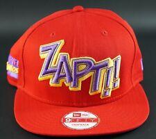 NEW ERA Marvel Comic Zapt 9Fifty Adjustable Snapback Basketball Baseball Hat Cap