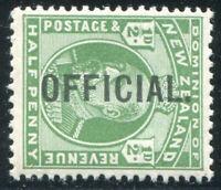 HERRICKSTAMP NEW ZEALAND Sc.# O33 1910 /edward /vUU Fresh Mint NH