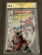 AMAZING SPIDER-MAN #361 CGC 9.4 SIGNED BAGLEY 2ND PRINT 1ST APPEARANCE CARNAGE