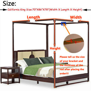 Customized Modern Linen Indoor Mosquito Net Holiday Style Bed Canopy For Girls