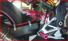 HONDA CBR F4I SET OF HEEL GUARDS RED
