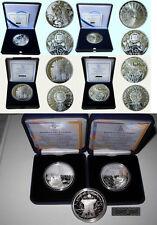 Greece Greek 10 euro SILVER coins 2006 X2 , 2007 X2 , 2011 X2 Boxes Certificates