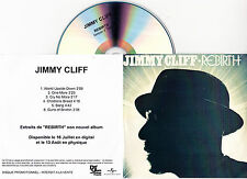 CD PLASTIC SLEEVE COLLECTOR JIMMY CLIFF REBIRTH 5 TITRES FRANCE