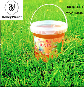100%PURE RAW ORGANIC HONEY 1KG.- NATURE IN A JAR  NEW HARVEST SPRING 2021