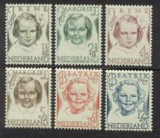 NVPH 454-459 Prinsessenzegels 1946 postfris (MNH)