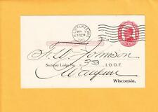 IOOF 1913 Milwaukee Grand Lodge Wisconsin R Hoe Sectý I.O.O.F. Hand Signed z33