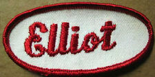 ELLIOT small Name PATCH for Shirt or Jacket, cloth tag