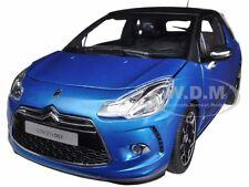 2011 CITROEN DS3 BLUE/BLACK 1/18 DIECAST CAR MODEL BY NOREV 181539
