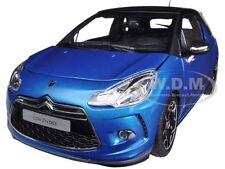 2011 CITROEN DS3 BLUE/BLACK 1/18 DIECAST CAR MODEL BY NOREV 181539