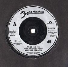 """Vanessa Paradis - Joe Le Taxi / Varvara Pavlovna 7"""" Single 1987"""