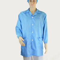 Unisex ESD-Safe Econoshield Anti-static Healthcare LAB Smock Clothes Coat Jacket