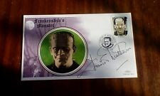 Francis Mathews Signed Frankenstein's Monster Cover Hammer Horror