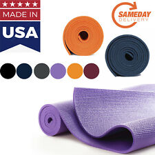 Athletic Exercise yoga mat MADE IN USA Multi color FAST SAMEDAY SHIPPING