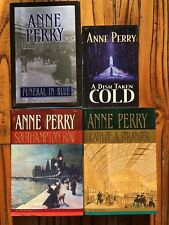 Anne Perry - 4 Hardcover Book Set - Like New Never Read