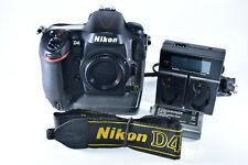 Nikon D4 16.2 MP Digital SLR Camera - Black (Body Only) Shutter=23k