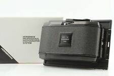 【Almost Unused Boxed】 HORSEMAN ROLL FILM Back Holder 612 6EXP 6x12 4x5 JAPAN