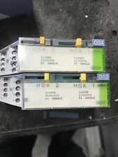 SIEMENS PTM6.2Q250-M Point Termination Module & Manual Override Switch 2 Point