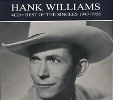 HANK WILLIAMS - BEST OF THE SINGLES 1947-1958   (NEW SEALED 4CD )