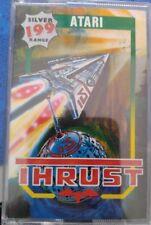 Thrust (Firebird 1987) Atari 800xl/130xe cassette (tape, Box manual)