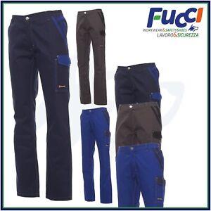 Pantaloni da Lavoro Multistagione Invernali Payper Outlet Uomo Donna 100% Cotone