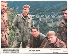 FORCE 10 FROM NAVARONE orig color photo ROBERT SHAW/HARRISON FORD/FRANCO NERO
