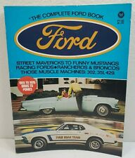 The Complete Ford Book 1955 to 1970 Petersen T-Bird Mustang Boss 302 351 429 VTG