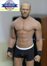 1/6 Jason Statham Head Sculpt + PHICEN M33 Seamless Muscular Male Figure Set USA