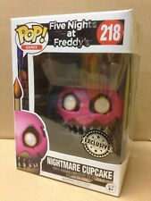 Funko Pop! Five Nights At Freddy 'pesadilla Cupcake #218 Exclusivo Figura De Vinilo