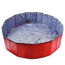 Piscina para Perros Estanque de Agua Plegable Las Niños Take un Baño S/M/L