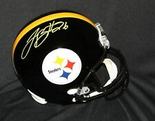 Le'VEON BELL Signed Pittsburgh Steelers Full Size Replica Helmet  Autograph PSA