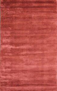Silicon-B Wool & Art Silk Hand loom Area Rug