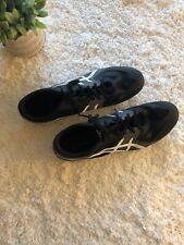 ASICS Men's Sz 13 Hyper MD 6 Track & Field Shoe Black White G502J Spikes
