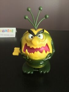Vintage 1980s Raid Bug Spray Mascot with Key Wind Up Walking Working Complete