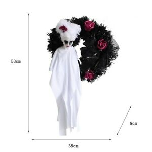 Halloween Ghost Door Hanging Scary Adult Toy Horror Party Wreath Ornaments