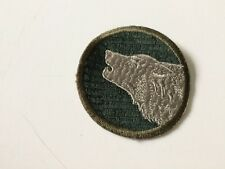 WWII U. S. ARMY 104TH INFANTRY DIVISION GEMSCO COLORED PATCH
