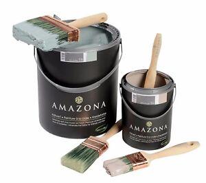 Kreidefarbe Amazona DIY Shabby Chic Vintage verschiedene Farben Eco 4l