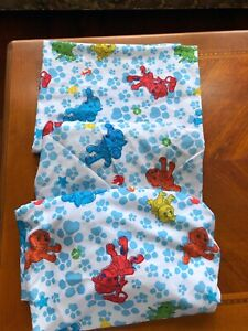 Nickelodeon Paw Patrol Lot of 3 Crib Sheets ~1 Flat and 2 Fitted Sheets EUC