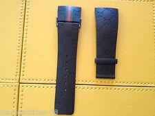 NEW I GUCCI 26MM AUTHENTIC RUBBER REPLACEMENT STRAP FOR GUCCI YA114207 WATCH