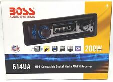 Boss Audio 614UA Car Single Din Stereo Media Receiver with USB SD AUX Input NEW