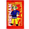 kleines Kinderhandtuch / Handtuch /Gästetuch - Feuerwehrmann Sam - Baumwolle 100