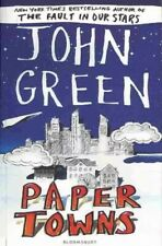 Paper Towns by John Green Very Good Condition Used Paperback Book Young Adult