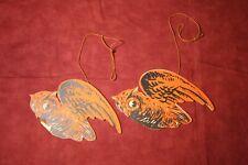 Vintage Halloween Hanging Decorations - Owls