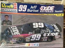 Revell #99 Exide Jeff Burton Taurus model kit #85-2556 1:24 Read description