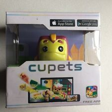 Cupets Electronic Interactive Pet, (Soup) For Iphone/Android Inc Free App. New+
